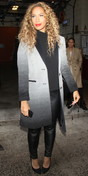 Leona Lewis at the ABC Studios in New York City - 5 December 2013
