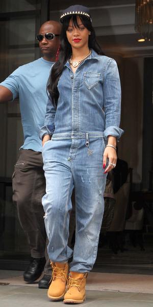 Rihanna leaving the Corinthia Hotel, London, Britain - 26 Jun 2012
