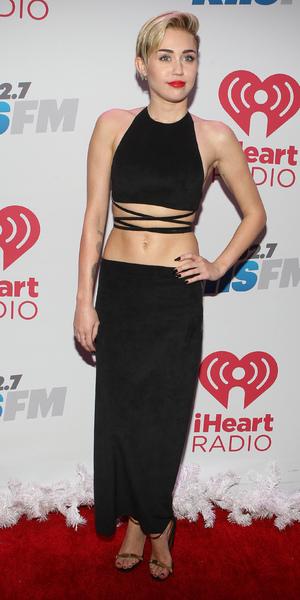 Miley Cyrus attends KIIS FM's Jingle Ball At Staples Center, 6 Dec 2013