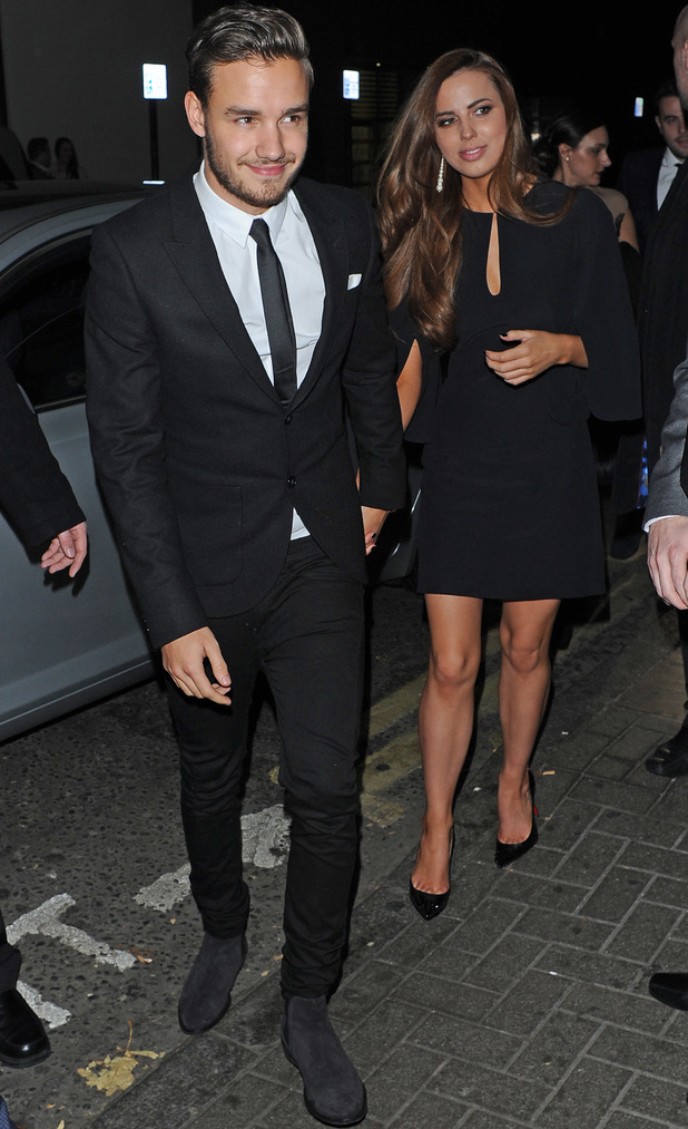 Liam Payne and girlfriend Sophia at the Class of 92 afterparty, 1.12.13