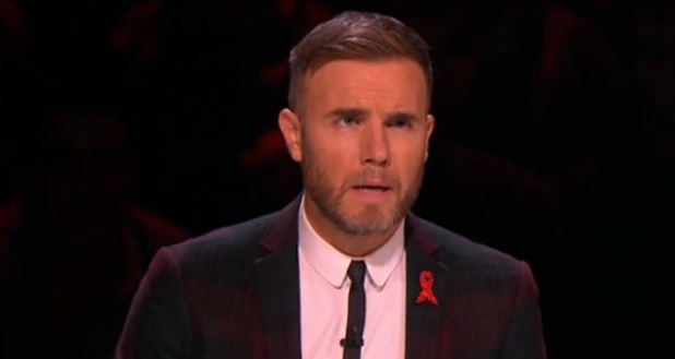 The X Factor's Gary Barlow- 1.12.2013