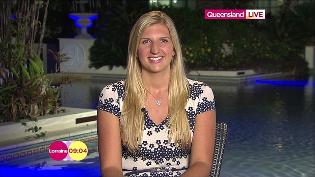 Rebecca Adlington speaks to Lorraine Kelly about I'm A Celebrity - 6 December 2013
