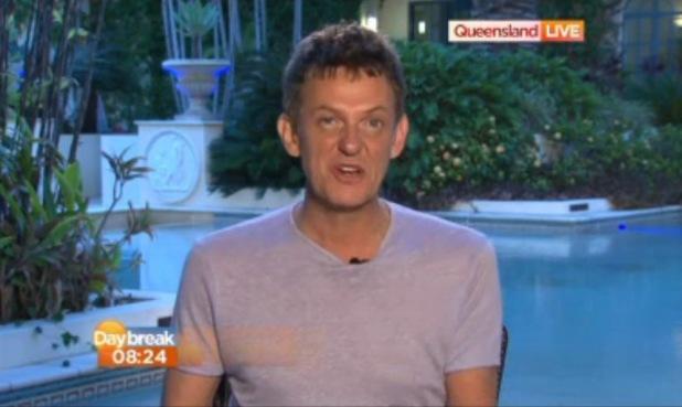 Matthew Wright appears on Daybreak - 4 December 2013