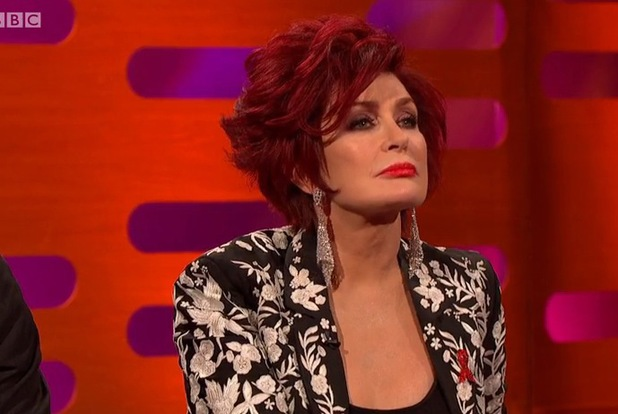 Sharon Osbourne and Colin Farrell on The Graham Norton Show - 29.11.2013
