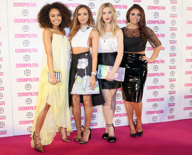 Little Mix, Perrie Edwards, Leigh-Anne Pinnock, Jade Thirlwall, Jesy Nelson at the Cosmopolitan Ultimate Women of the Year Awards - London, 5 December 2013