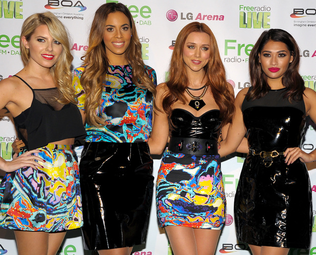The Saturdays, Mollie King, Rochelle Humes, Vanessa White, Una Healy perform at Free Radio Live 2013 in Birmingham - 30 November 2013