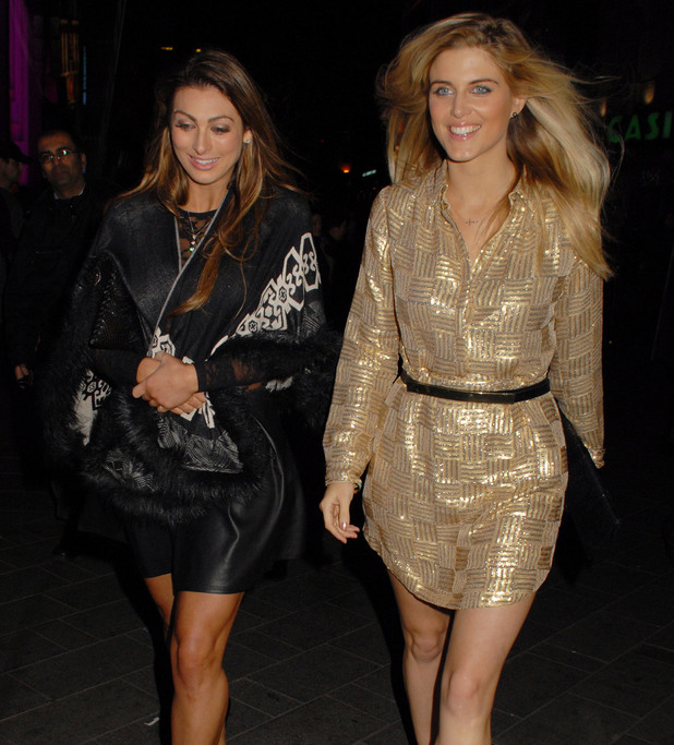 'A Night With Nick' annual fundraiser at INK LDN. Person In Image:	Luisa Zissman, Ashley James. 12/04/2013.