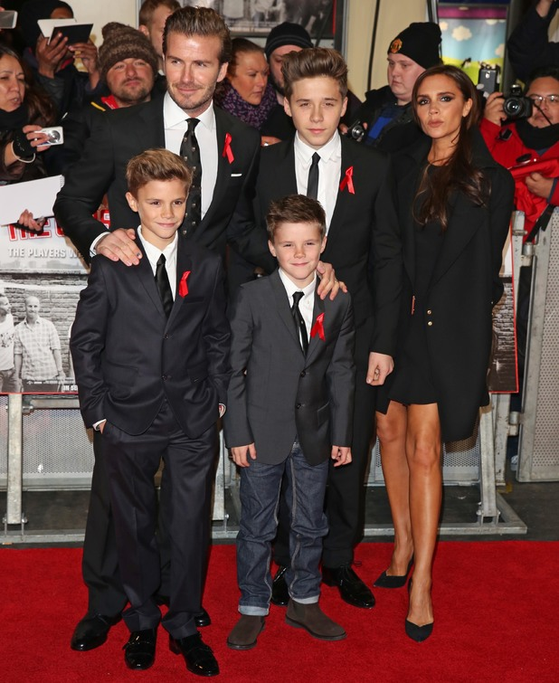 David and Victoria Beckham: The Class of 92 premiere held at the Odeon West End cinema - Arrivals - 1 December 2013