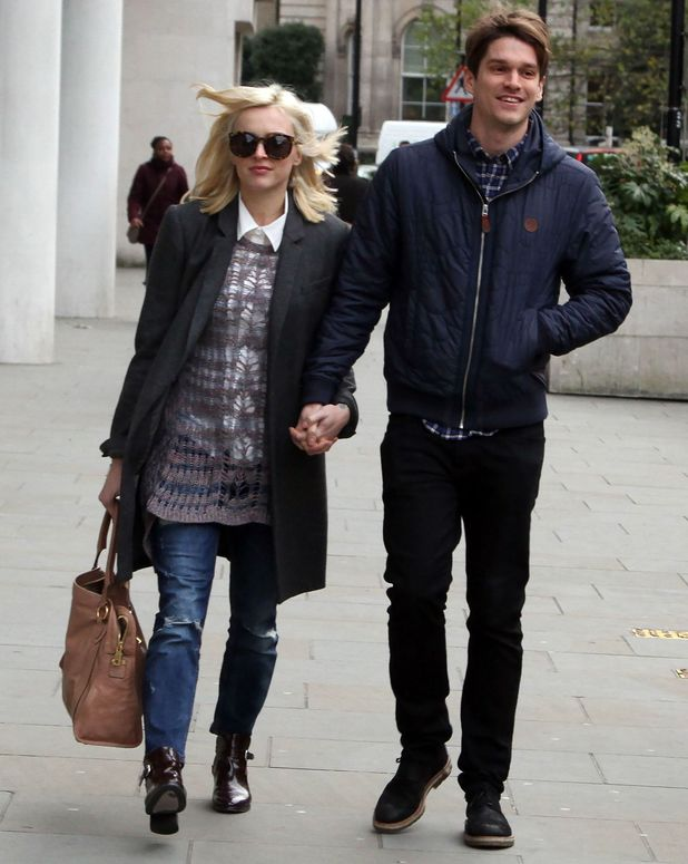 Fearne Cotton and Jesse Wood out and about in London, Britain - 04 Dec 2013