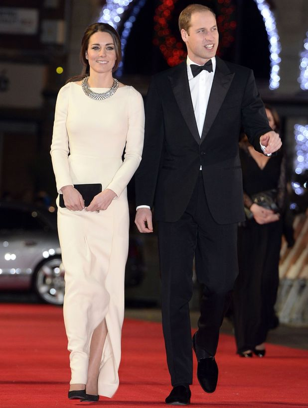 'Mandela: long walk to freedom' film premiere, London, Britain - 05 Dec 2013 Catherine Duchess of Cambridge and Prince William