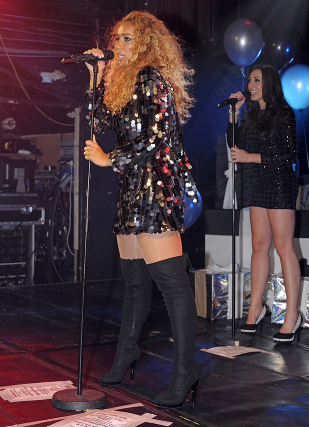 Former X Factor contestant Hannah Barrett performs live at G-A-Y in support of Leona Lewis - 30.11.2013