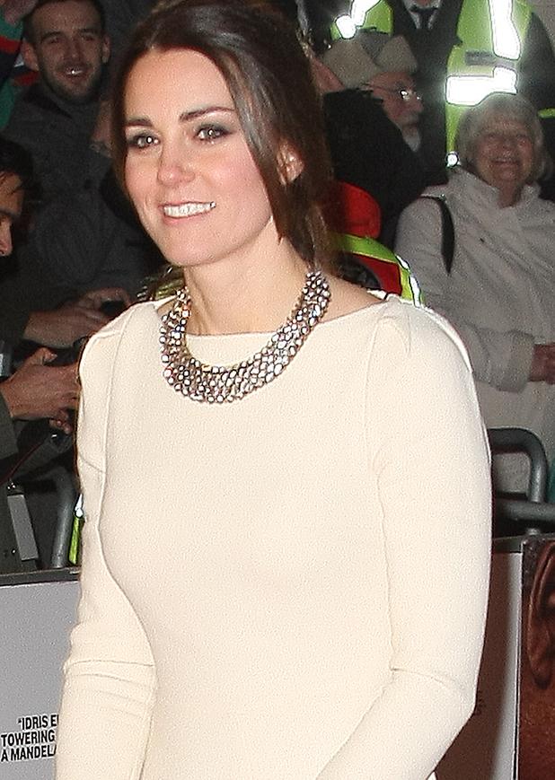 Prince William and Kate Middleton at the Mandela Premiere - 5 December 2013