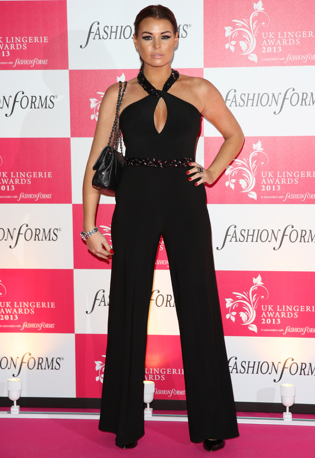 Jessica Wright at the UK Lingerie Awards 2013 held at Freemason's Hall, London - 4 December 2013