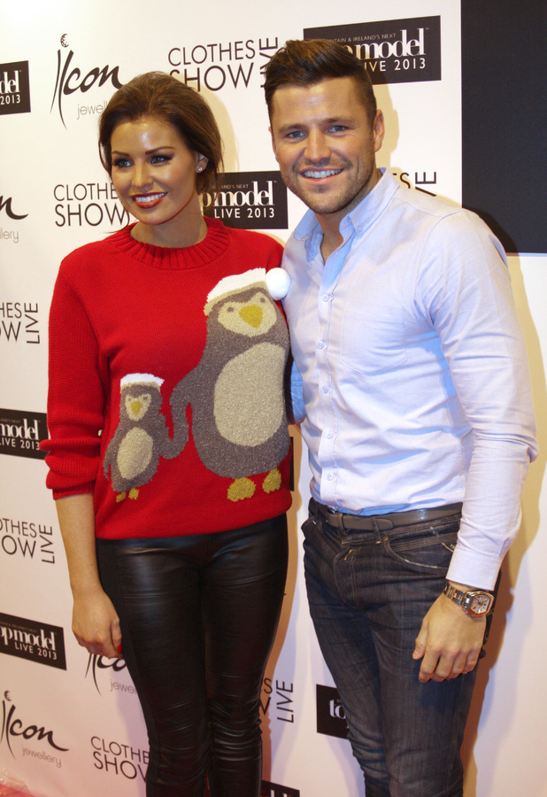 Mark Wright and Jessica Wright at Clothes Show Live, NEC Birmingham - 07 Dec 2013