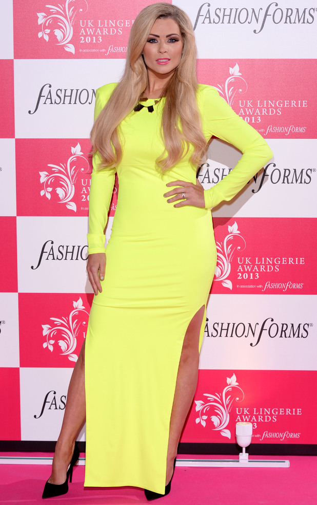 UK Lingerie Awards, Freemasons Hall, London, Britain - 04 Dec 2013 Nicola McLean