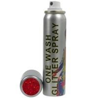 Stargazer One Wash Red Glitter Hairspray