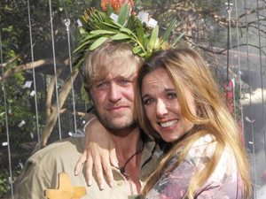 Kian Egan late to I'm A Celebrity wrap party, feels on top of world