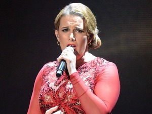 Sam Bailey on 'The X Factor' final TV show, Wembley Arena, London, Britain - 15 Dec 2013
