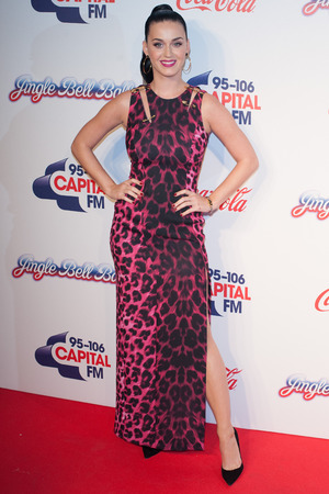 Katy Perry arrives at the Capital FM Jingle Bell Ball 2013 held at the O2 Arena - London 7 December 2013