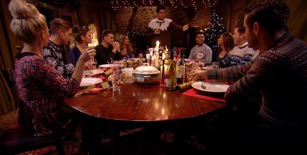 Lucy Mecklenburgh comes face to face with Mario Falcone's ex, Pascal Craymer in TOWIE's festive episode, The Only Way Is Essexmas.