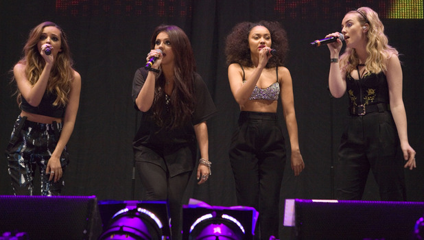 Little Mix perform at Clyde 1 Live 2013 held at SSE Hydro, 13 December 2013