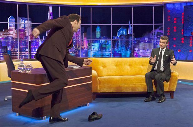 'The Jonathan Ross Show' TV Programme, London, Britain - 14 Dec 2013 Jonathan Ross and David Beckham