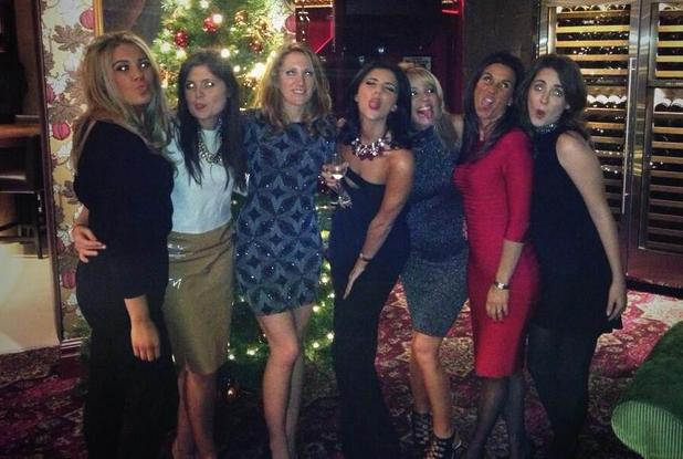 Lucy Mecklenburgh enjoys a girls' night out after TOWIE exit - 12 December 2013