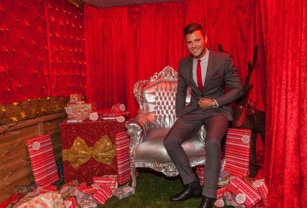 Mark Wright treats women in Littlewoods.com Mums' Grotto - 11 December 2013