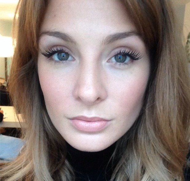 Millie Manderson wearing St Mortiz ltd edition lashes and sporting a lovely winter glow, 3 December 2013