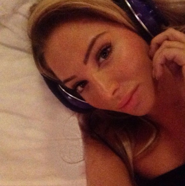 Tulisa shares photographs of herself after drugs charge announcement - 10 December 2013