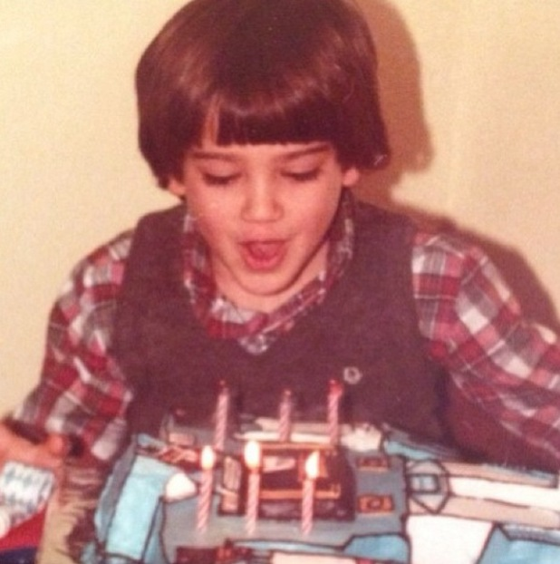 Childhood photo of Jesse Metcalfe ahead of his 35th birthday celebrations. (9 December 2013).