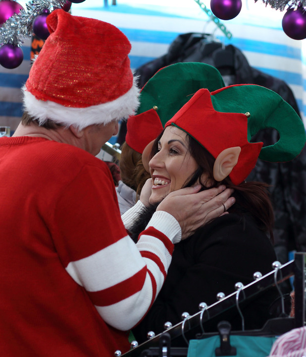 EastEnders, Alfie brings Christmas spirit to Kat, Fri 13 Dec
