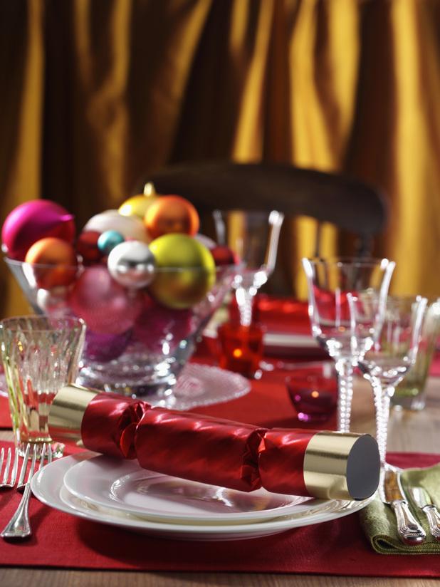 Food and Drink Christmas table setting 2013