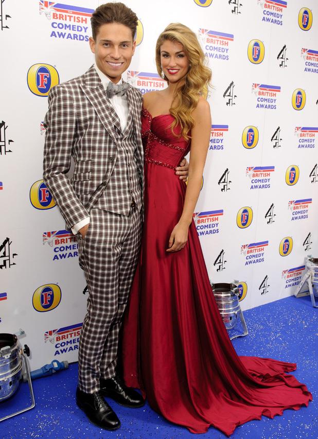British Comedy Awards, London, Britain - 12 Dec 2013 Joey Essex and Amy Willerton