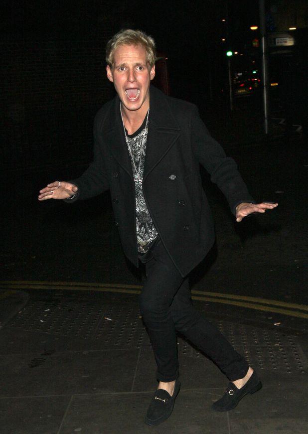 Made In Chelsea's Jamie Laing leaving Bodo's Schloss, London, Britain - 12 Dec 2013