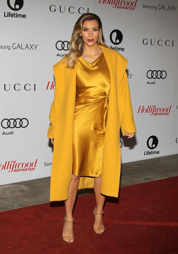 Kim Kardashian, Kris Jenner at The Hollywood Reporter's Women In Entertainment Breakfast - LA - 11.12.2013