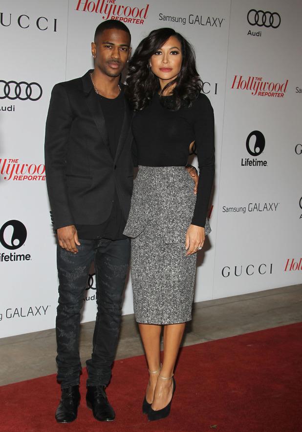 The Hollywood Reporter's Women In Entertainment Breakfast - Naya Rivera, Big Sean - 12.12.2013