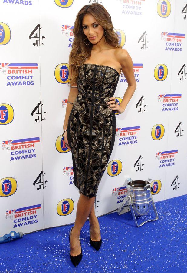 Nicole Scherzinger at the British Comedy Awards in London - 12 December 2013