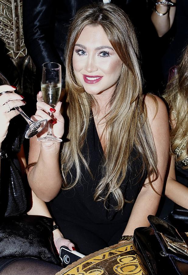Lauren Goodger throws a Christmas party for her Lauren's Way staff at Shaka Zulu, London, 13 December 2013