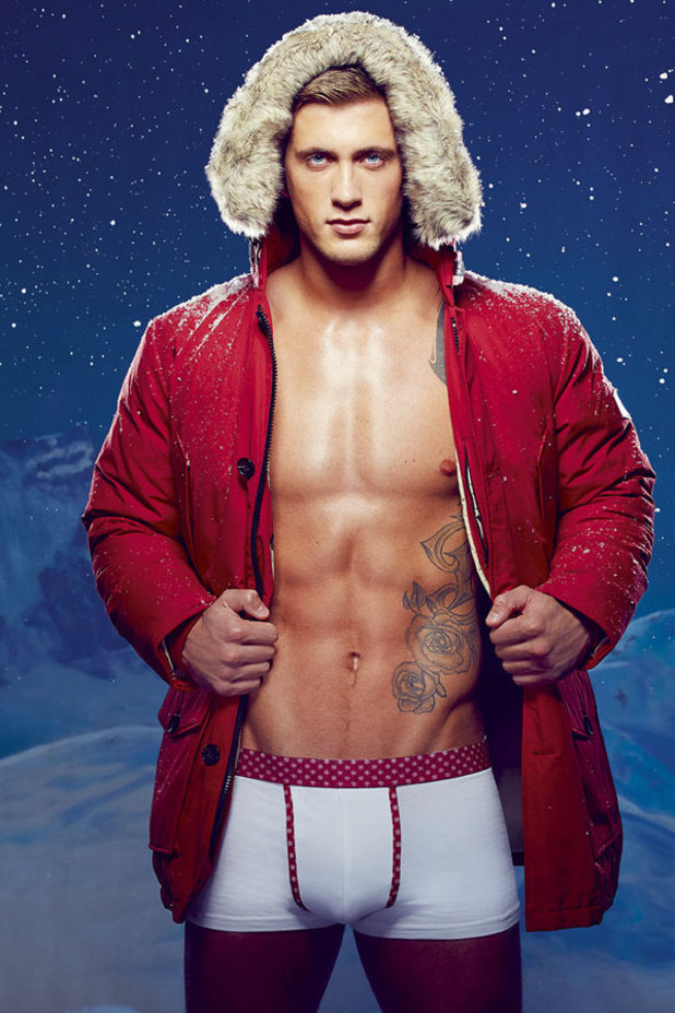 TOWIE's Dan Osborne is Reveal's Santa Phwoars!