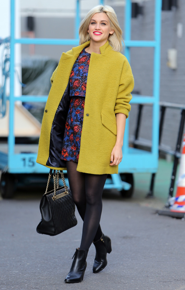 Ashley Roberts outside the ITV Studios in London - 9 December 2013