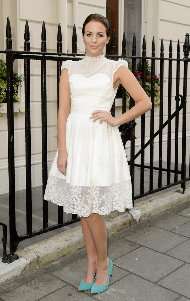 Lydia Rose Bright - spring/summer 2014 preview, London, Britain - 11 Dec 2013