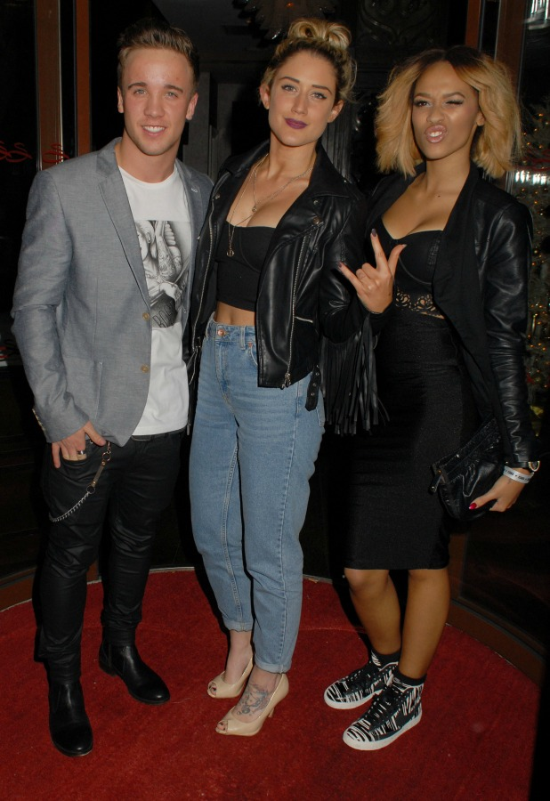 Sam Callahan, Katie Waissel, Tamera Foster attend CAKO & CAKO Kids Launch Party at Sanctum Soho Hotel, London, 10 December 2013