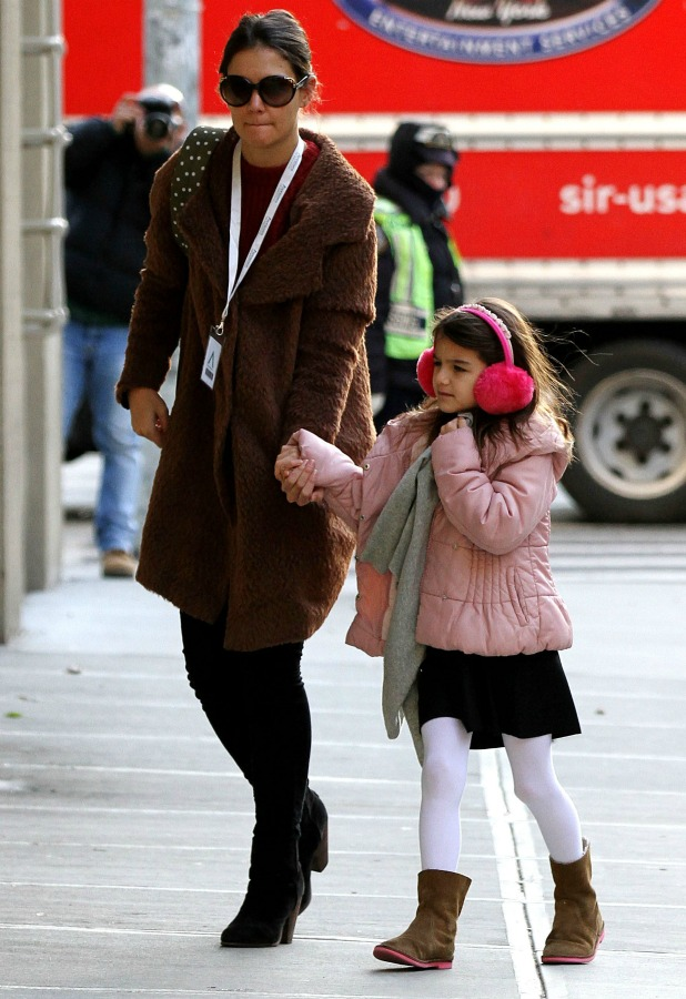 Katie Holmes out and about, New York, America - 12 Dec 2013