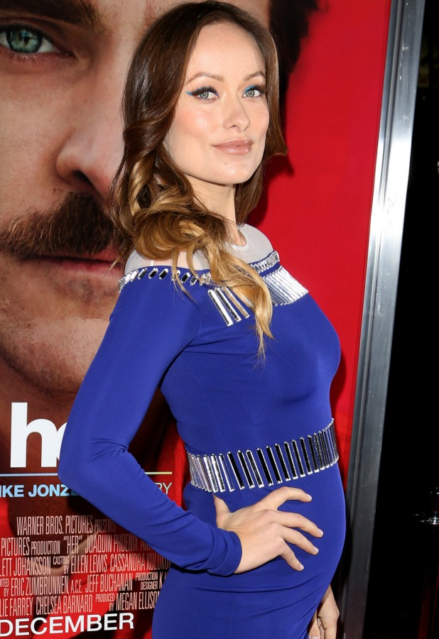 Olivia WIlde at premiere of Warner Bros. Pictures 'Her' at DGA Theater - Red Carpet, 12 December 2013