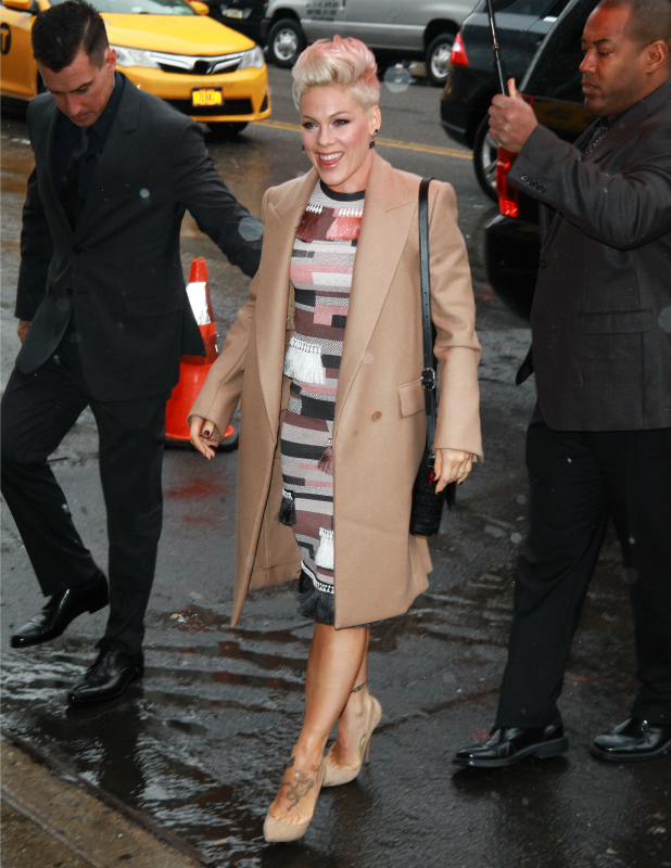 "Carey Hart and Pink at Billboard's ""Women in Music 2013"" - Red Carpet Arrivals, 10 December 2013"