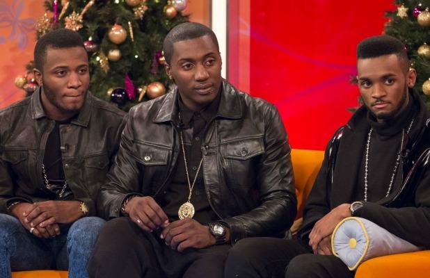 Rough Copy on 'Lorraine Live' TV Programme, London, Britain. - 09 Dec 2013