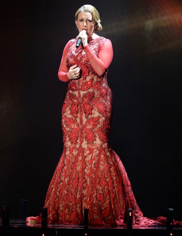 Sam Bailey on 'The X Factor' final TV show, Wembley Arena, London, Britain - 15 Dec 2013