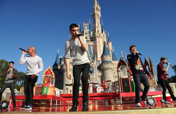 'Disney Parks Christmas Day Parade' TV programme special, Florida, America - 07 Dec 2013 The Wanted