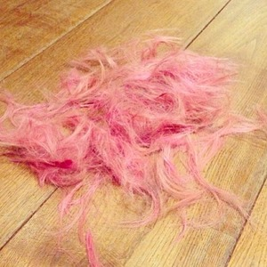 Fearne Cotton posts picture of newly-dyed hair on Instagram, December 20 2013